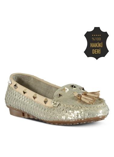 % 100 Deri Topuklu Ayakkabı-Marjin